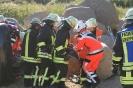 Alarmübung Kiesgrube Kossau 24.08.2013